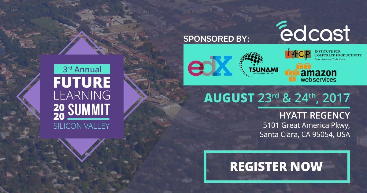 Don&#39;t miss the best corporate #learning summit of the year - Register before it is SOLD OUT &gt;&gt;   https://www. edcast.com/corp/summit201 7/ &nbsp; …  @karlmehta #business<br>http://pic.twitter.com/9Lm0Rka3C5