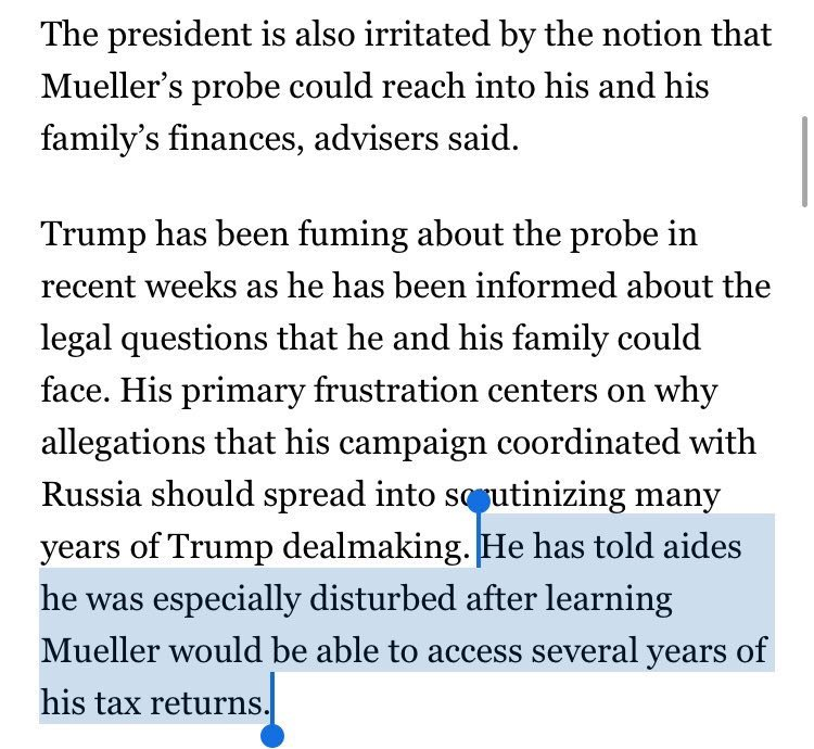 Turns out tax returns are an issue.