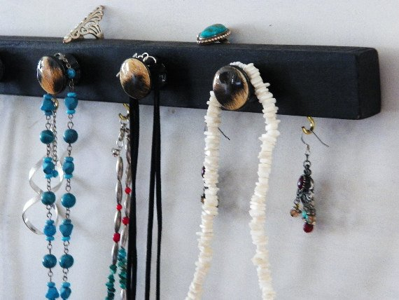 Black Leopard Organizer...Jewelry Board &amp; Organizer, Key H…  http:// etsy.me/2rf8ARY  &nbsp;   #decorativeknobs #NecklaceHanger<br>http://pic.twitter.com/vPZCUeqML7