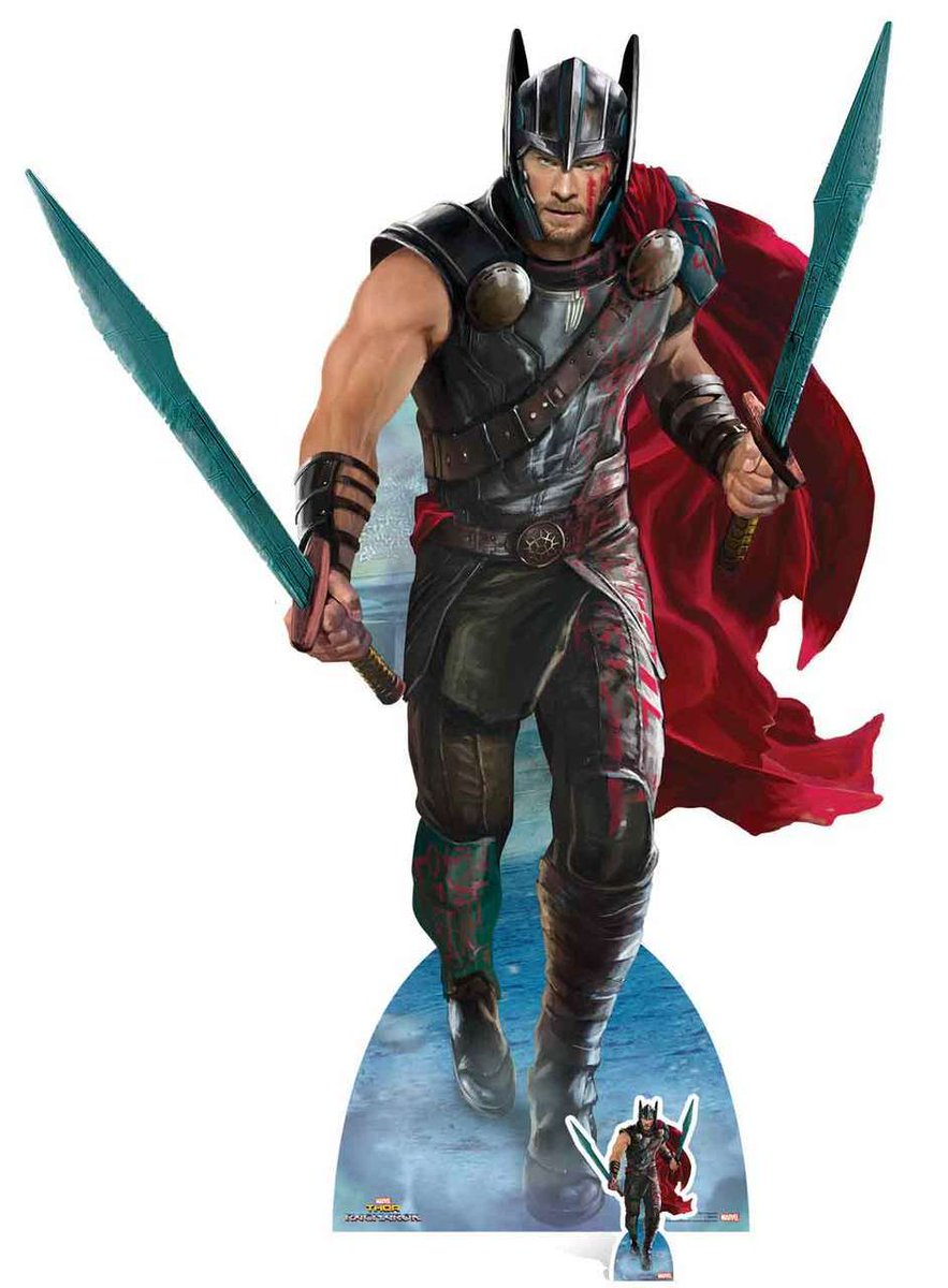 Thor Ragnarok Character Standees Provide New Looks At