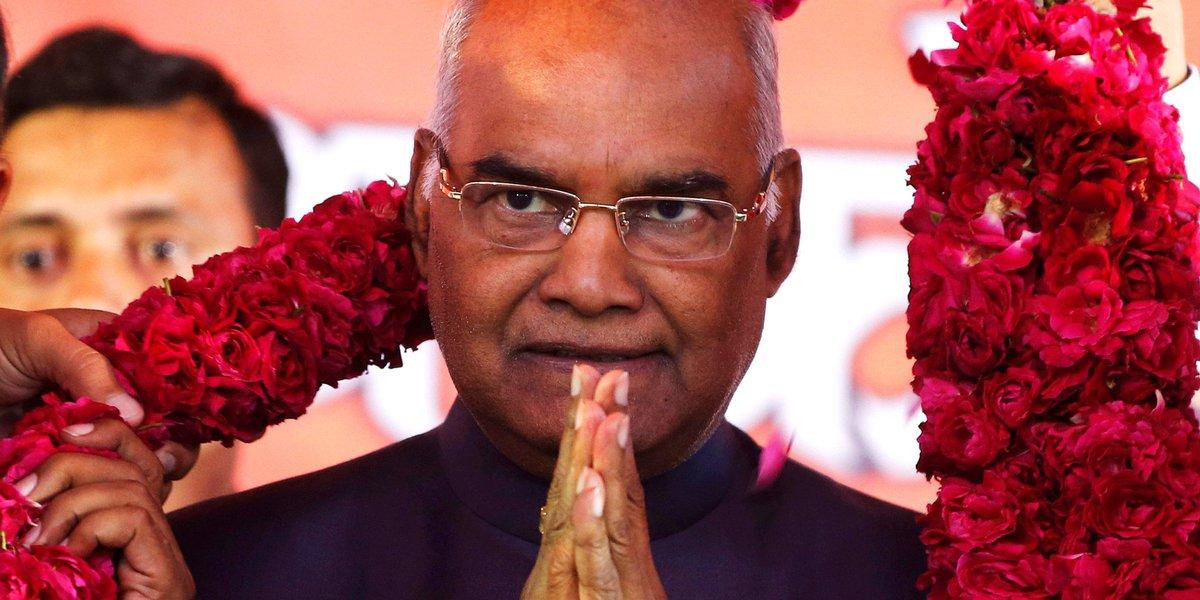 인도 새 대통령으로 당선된 코빈드의 이력: 그는 최하층 카스트인 '불가촉천민' 출신이다.https://t.co/rpZjr6nNsu