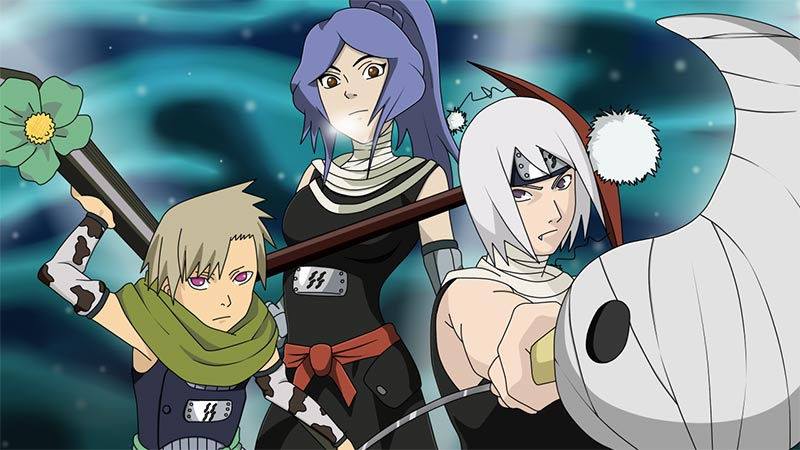 #MangetsuHozuki - Um dos famosos Sete Espadachins Ninja de #JogoNaruto