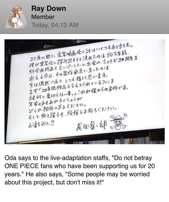 One Piece Twitter