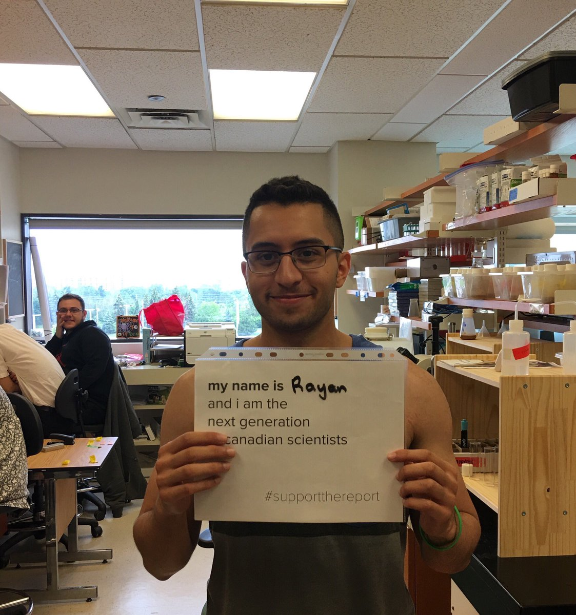 My summer student Rayan wants you to support the Naylor report! #NextGenCanScience. #supportthereport @JustinTrudeau @Bill_Morneau<br>http://pic.twitter.com/bH7SingAKQ