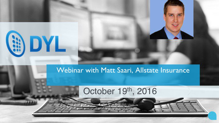 Check out this webcast with an Allstate agent who writes 287 items/mo with #DYL.  http:// bit.ly/2dt9fUa  &nbsp;   #sales #automation #crm #marketing<br>http://pic.twitter.com/Q3Q4Sf6S99