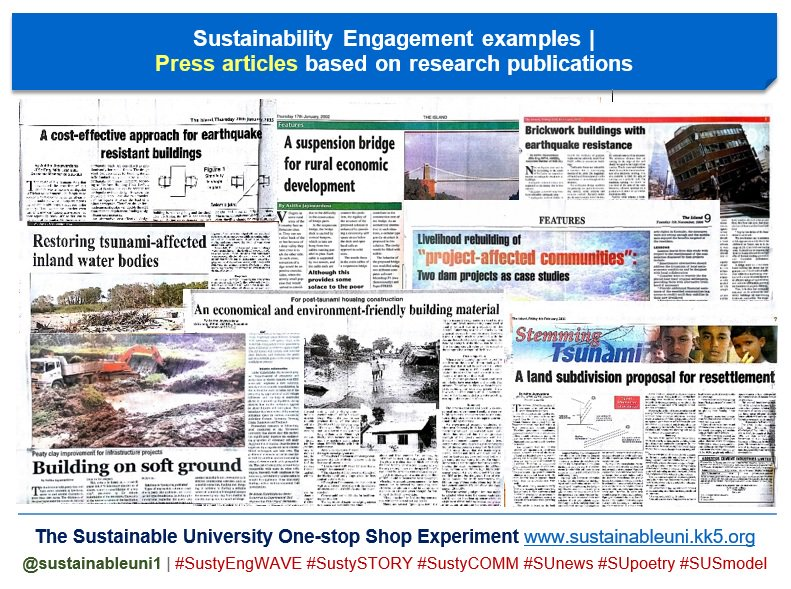 My #press articles with #academics as resource persons  #KnowledgeJOURNALISM  https://www. linkedin.com/pulse/sustaina bility-engagement-examples-press-articles-asitha-jayawardena &nbsp; …   #SciComm #ResearchImpact #engagement<br>http://pic.twitter.com/V6dsCdzhWG