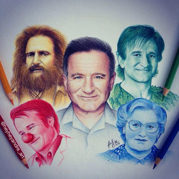 Happy Birthday Robin Williams. Your light and laughter is still missed by millions every day.