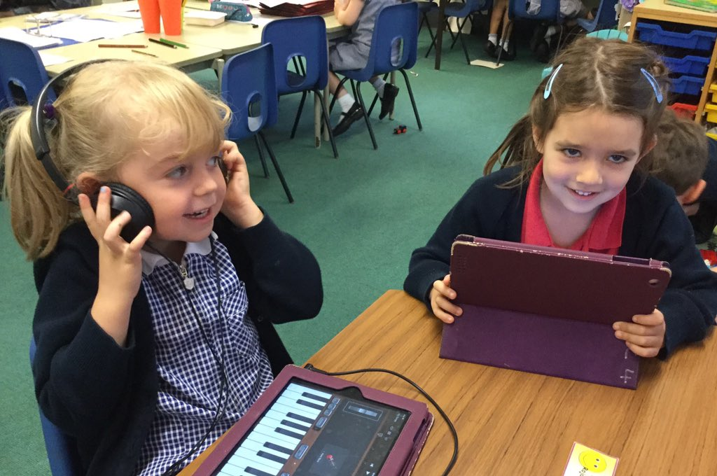 test Twitter Media - Nice to drop in on Reception making music . . .and chocolate fridge cake this morning! 🎵🍫🤤#gorseydt #gorseycomputing #gorseymusic @GorseyRec https://t.co/HbjUgiFD77