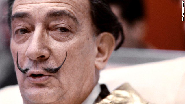 The body of Spanish surrealist painter Salvador Dali was exhumed for a paternity test. https://t.co/PxuyNvlqt8