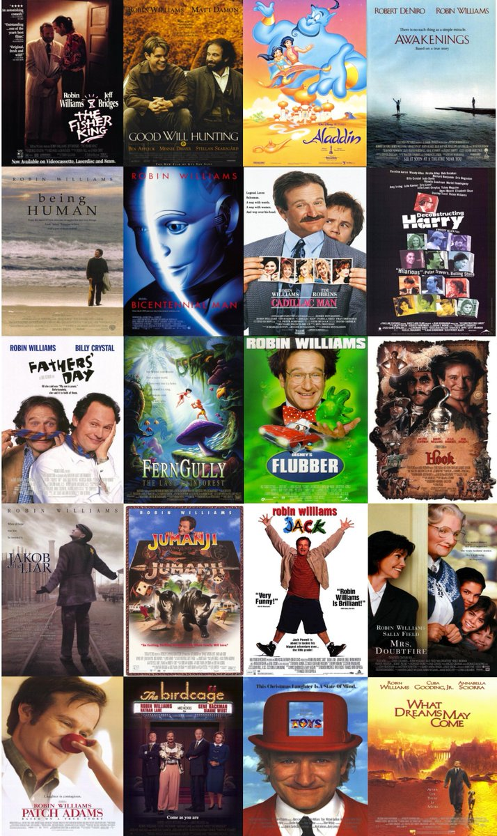 Comedy legend #RobinWilliams would have turned 66 today. Let's take a moment to remember him and some of his wonderful #90s movies. <br>http://pic.twitter.com/LdNIHgykXd