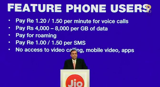 Mukesh Ambani introduces Made in India, Reliance Jio Smart Phone