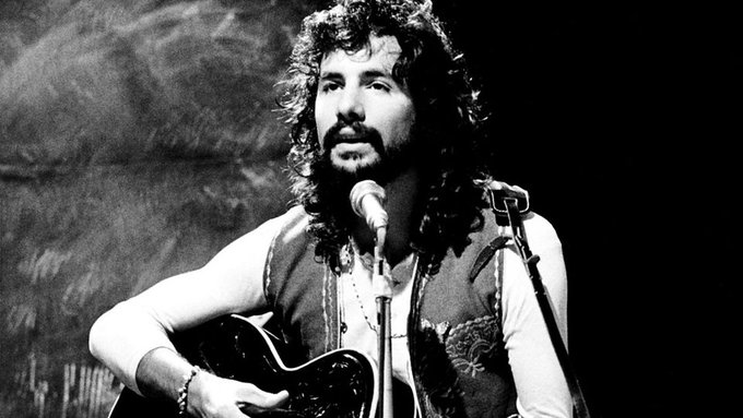 Happy birthday to Cat Stevens, born on 21st July 1947, singer, songwriter, (1967 UK No.2 single \Matthew And Son\