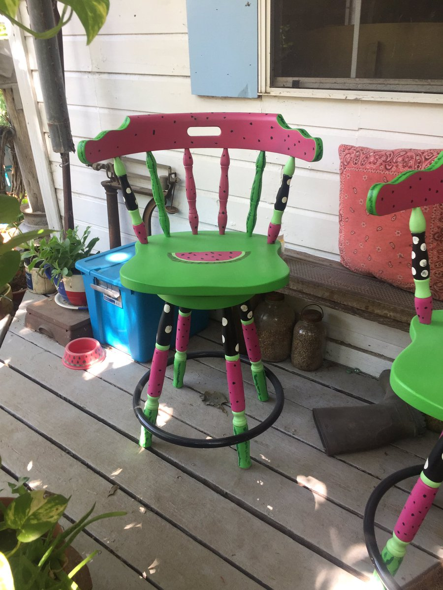 So I also did these stools. #furniture #painting #repurposed they are in the sale tomorrow. Can&#39;t wait!!! <br>http://pic.twitter.com/ZdzzvVWLod