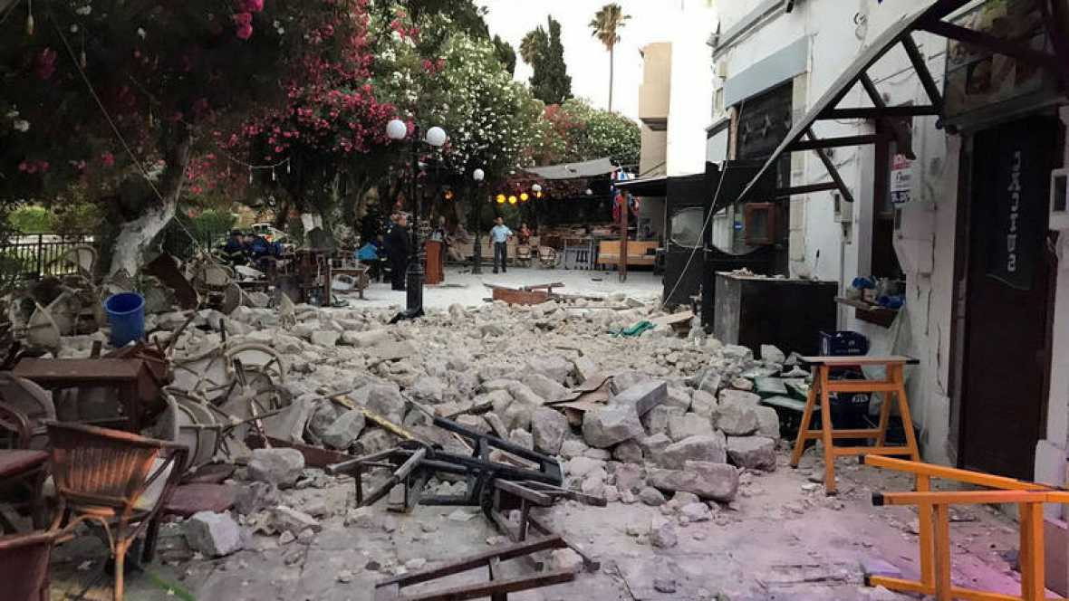 Terremoto M6.7: Tsunami Kos (Grecia) Bodrum (Turchia) nel Mar Egeo la notte del 21 luglio 2017 | Centro Allerta Tsunami (CAT) dell'INGV