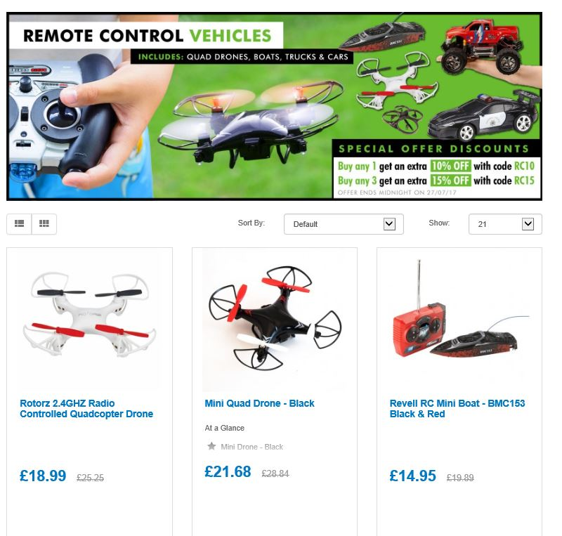 10% off our Range of R/C vehicles from drones 2 boats  http:// ow.ly/3j5d30dMIjv  &nbsp;   #RT #Follow #Win  share  @DailyDealsUK #MultiBuy any 3 15% off <br>http://pic.twitter.com/C0XbCGGpqK