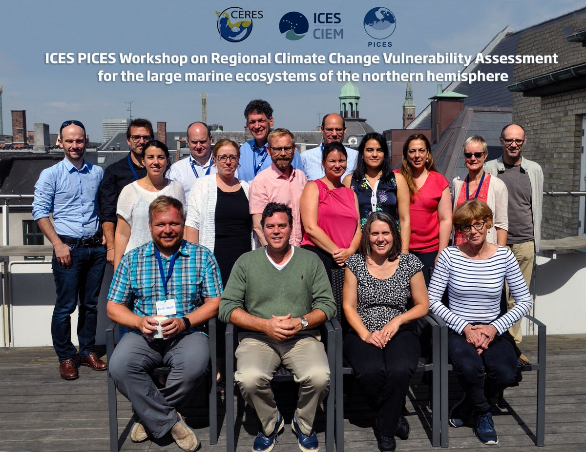 2,5-day workshop on vulnerability assessment at ICES July 19-21 co-sponsored by CERES #Horizon2020 #climatechange #bluegrowth @EU_H2020<br>http://pic.twitter.com/tBqZs8iADk