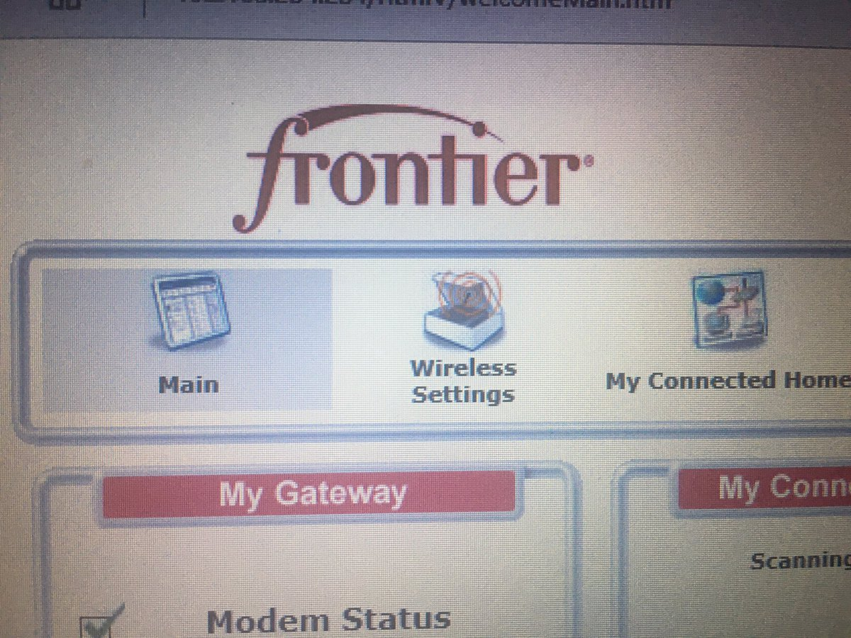 Yup you guessed it. #InsurerHackers get in without password. @FrontierCorp<br>http://pic.twitter.com/tm6wKmoWug