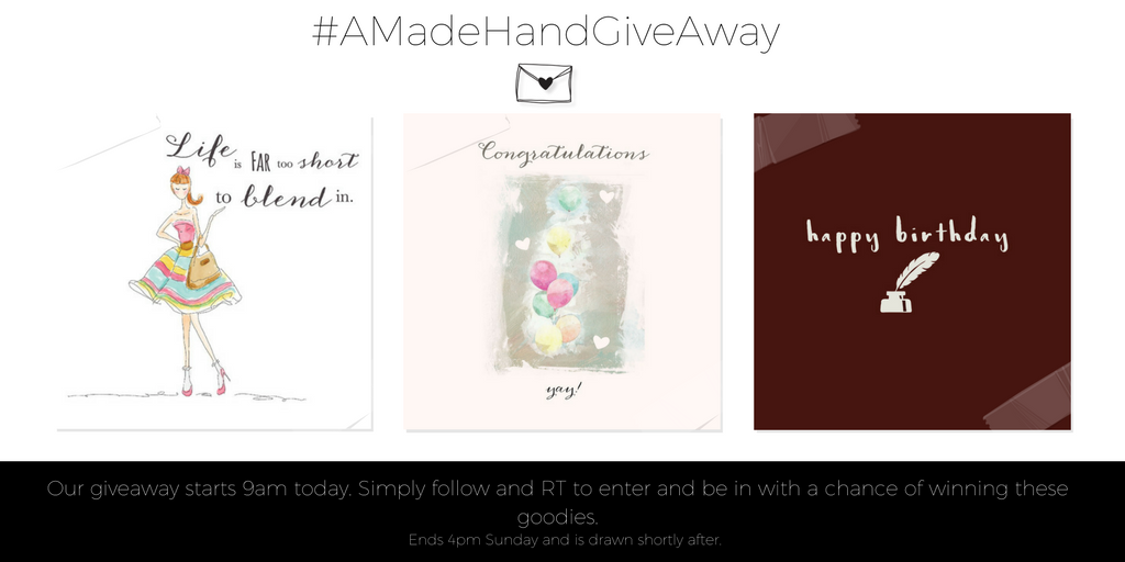 Here we go again! Follow&amp;RT to enter and win these gorgeous cards! GOOD LUCK #win #free #competition #greetingcards <br>http://pic.twitter.com/kipGRd2jeV