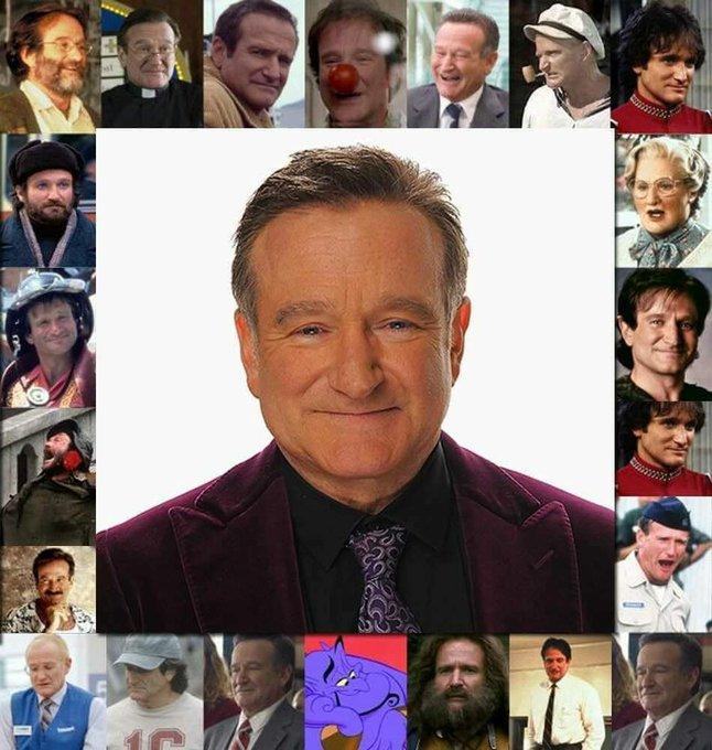 Happy birthday, Robin Williams. R.I.P
