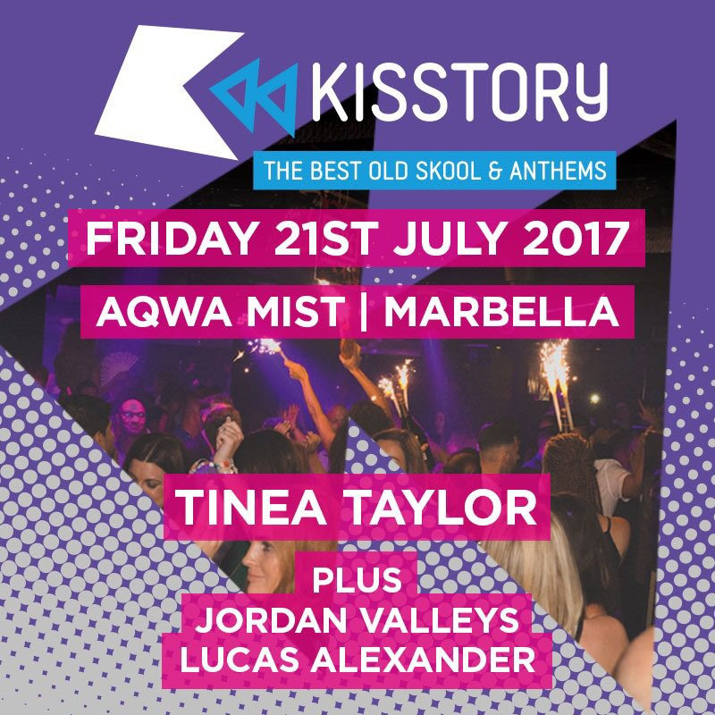 RT @JamesCromwell1: #FridayyyyFeeling #KISSTORY @AqwaMist tonight🕺🏻🙌🏻🔊  Final tables/ tickets: 📲+447590107491 https://t.co/cebkb02ZRo