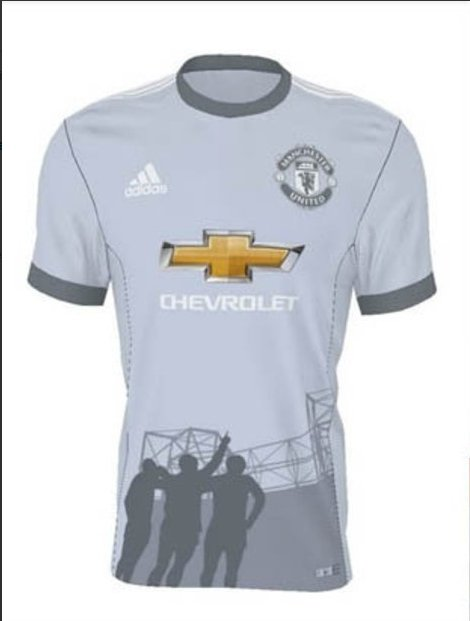 1a5a95501 Man Utd have unveiled their new  fan-designed third kit . Pretty disgusted  none of our entries made the final cut...pic.twitter.com LO8aGaqGpn