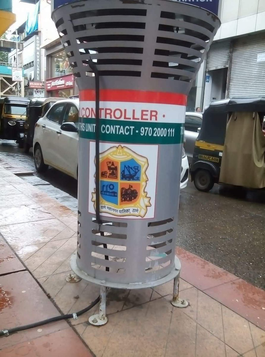 Air Pollution Controller installed near Thane Railway Station by #TMC. Great move by #TMC. #ShivSena4U  @AUThackeray  @mieknathshinde<br>http://pic.twitter.com/BUz7wSLUEI