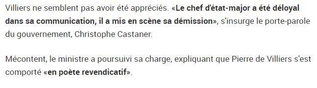@EmmanuelMacron Quand Christophe Castaner se plaint que les médias ont trop commenté la démission du chef d'état major. 'Déloyal dans sa communication' 😂😂😂