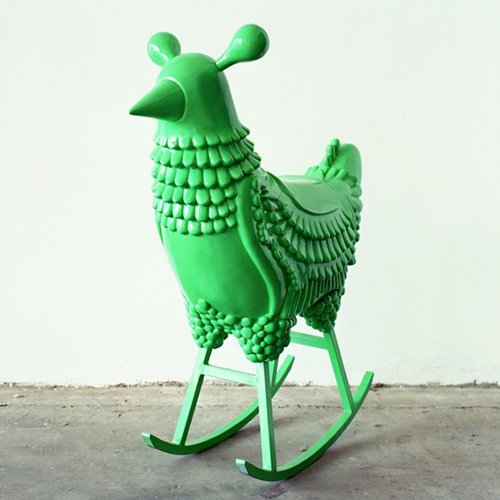 #FilVert #design #JaimeHayon green-chicken #Pau MCobb, High Back Swivel Chair, 1955. <br>http://pic.twitter.com/EKkp5XsnrV