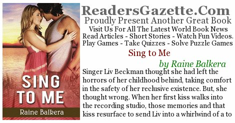 Sing to Me .@RaineBalkera #Romance https://t.co/jW4Zc5nDw2 Singer Liv Beckman thought she had left the horrors of her childh #novels 2