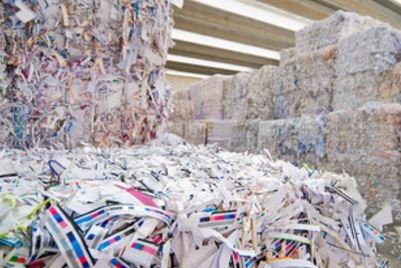 Paper recycling had increased over 89 percent