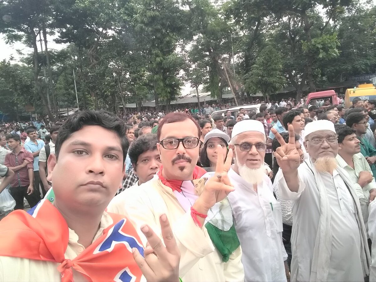 Ppl od Bengal r wth #TMC  #21july2017  Rally broken all records. 35Lc+ ppl participated from al sectors &amp; al religion. No-one can divide us.<br>http://pic.twitter.com/lXSae9jJK2