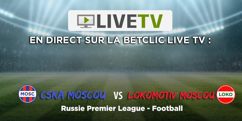 En manque de foot ? ⚽️ Regardez CSKA Moscou - Lokomotiv Moscou en direct sur notre Live TV 📺👌 ➡️ https://t.co/XC7ZhACycg