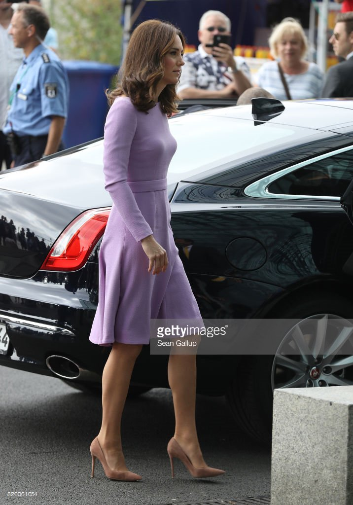 Duchess Kate is wearing her Gianvito Ros...