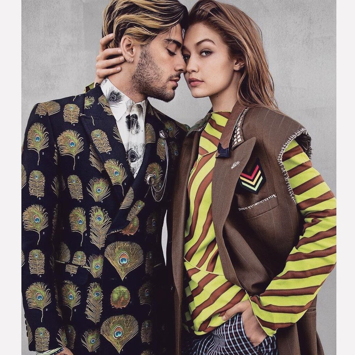 These two...  #GigiHadid #ZaynMalik <br>http://pic.twitter.com/GhotyUDEAl