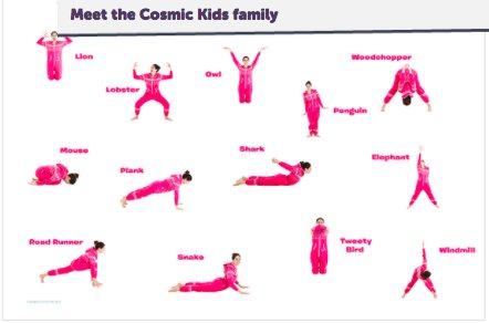 "cosmic kids yoga on twitter ""learn all of the main"