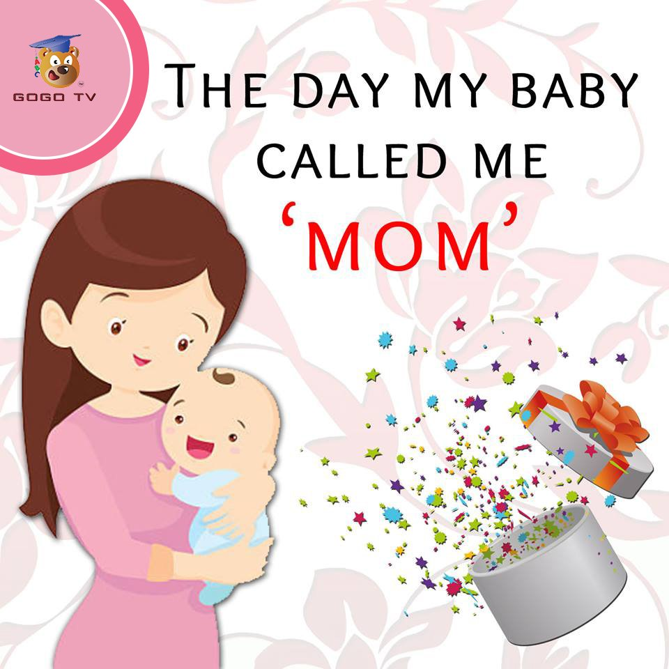 #TellUs how you felt #thatawesomeday when your child called you MOM for the first time! #GOGOTV #BEINGAMOM #Mumma #Moms #Motherslife<br>http://pic.twitter.com/K44ZLrhyjV