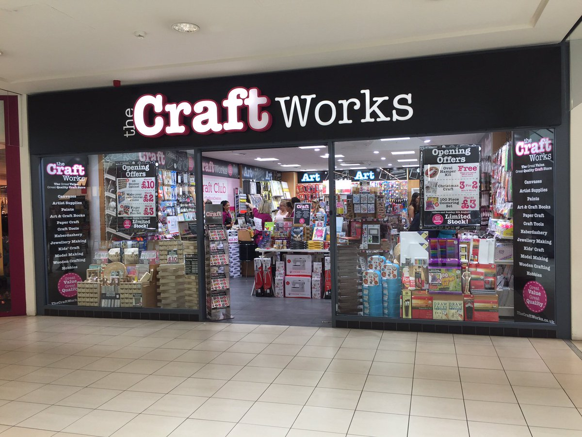 The Works On Twitter Attention Crafters The Craft Works Is Now