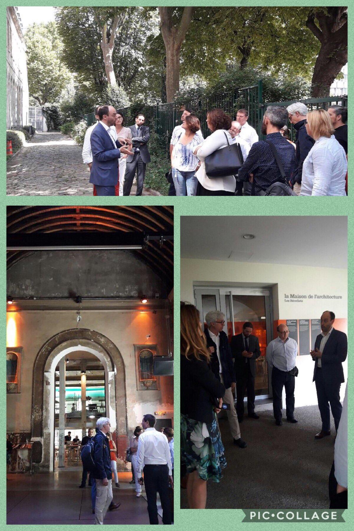 [#LabCedap] Avant la pause-déj, le groupe assiste à une visite guidée de la @MA_IDF par #PierreFabry #Cedap #Culture https://t.co/vCJMLk529G