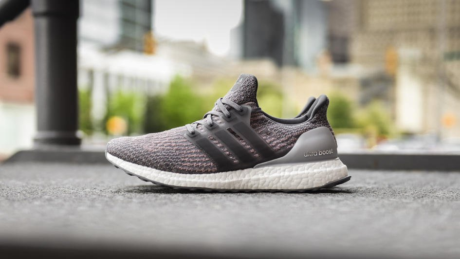 adidas Ultra Boost Men's Running Shoes Black/Solid Grey