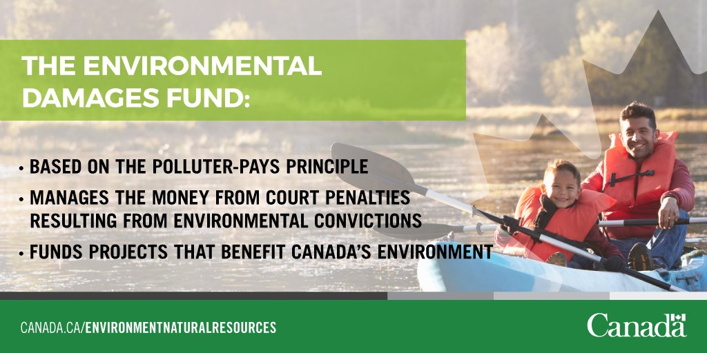 The #Enviro Damages Fund has funding available in 8 provinces &amp; territories for environmental projects. Apply now!  http:// ow.ly/UY8E30dIHIO  &nbsp;  <br>http://pic.twitter.com/Mb7G3i2oC4