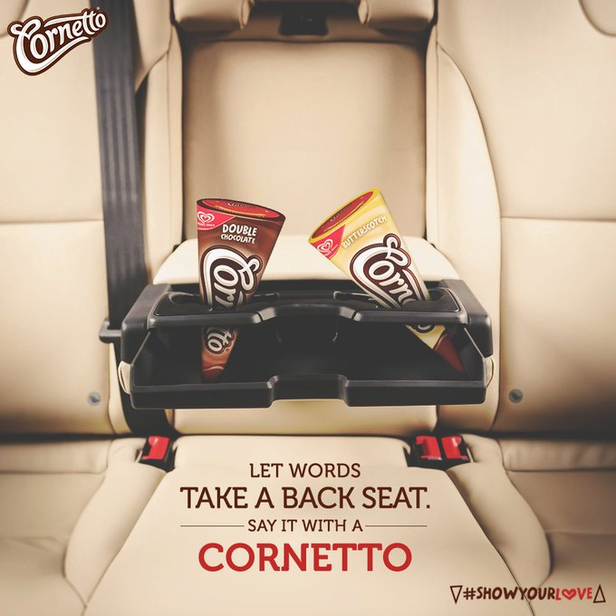 Getting stuck in traffic is just another reason to show that you're stuck on him @CornettoIndia #Showyourlove https://t.co/qyTlM0q4Bu