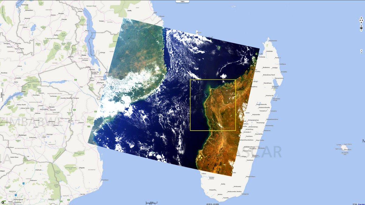 Watch the @CopernicusEU #Sentinel3 #OLCI instrument at work in the region of #Boeny (NW of #Madagascar):  http:// visioterra.net/svp/gallery/ht ml/30c820d4477e4860b6b75bca4b06de79 &nbsp; …  @VisioTerra<br>http://pic.twitter.com/vfGoBOTc3U