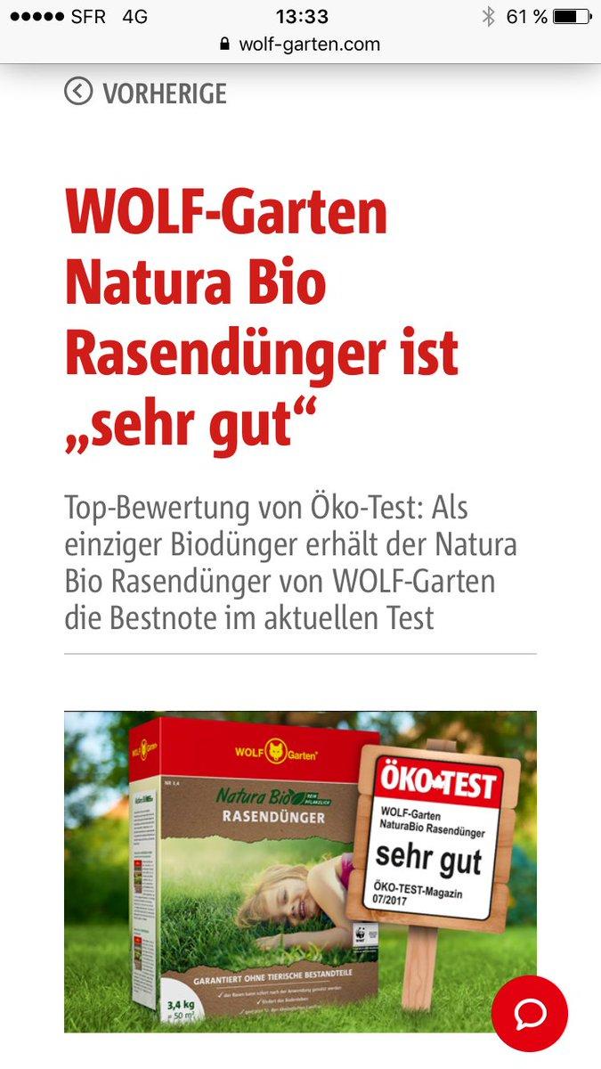 Karsten Hoppe On Twitter Natura Bio Fertilizer From Wolf Garten