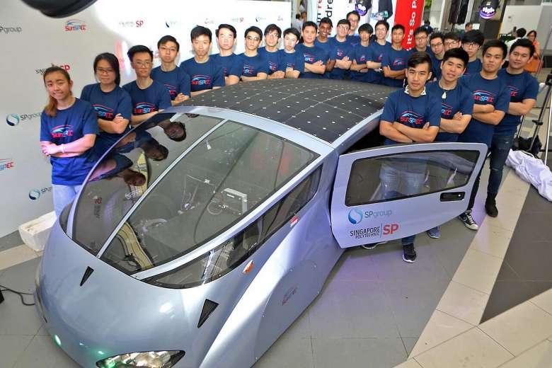 Singapore Poly's solar car revs up for Australia race https://t.co/wri73i7Isd