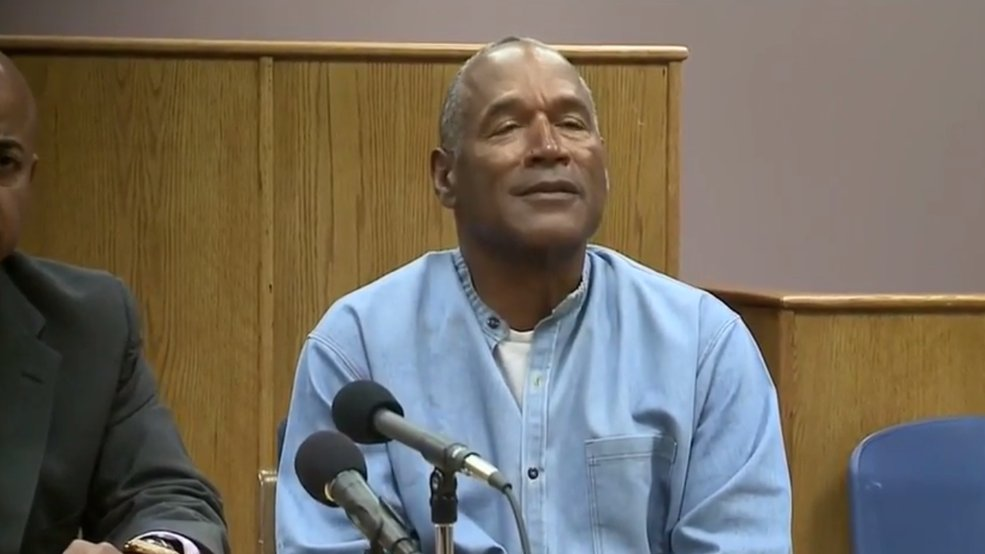 After spending nearly 9 years behind bars, OJ Simpson will be a free man later this year #LiveonK2 https://t.co/InFPhyq9eh
