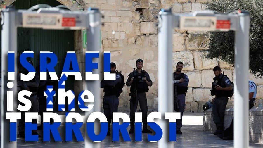 Stop Israeli Terrorism  #جمعه_الاقصي #اغضب_للاقصي #Palestine #NoGates #MescidiAksâ<br>http://pic.twitter.com/RlgYrDDiz2