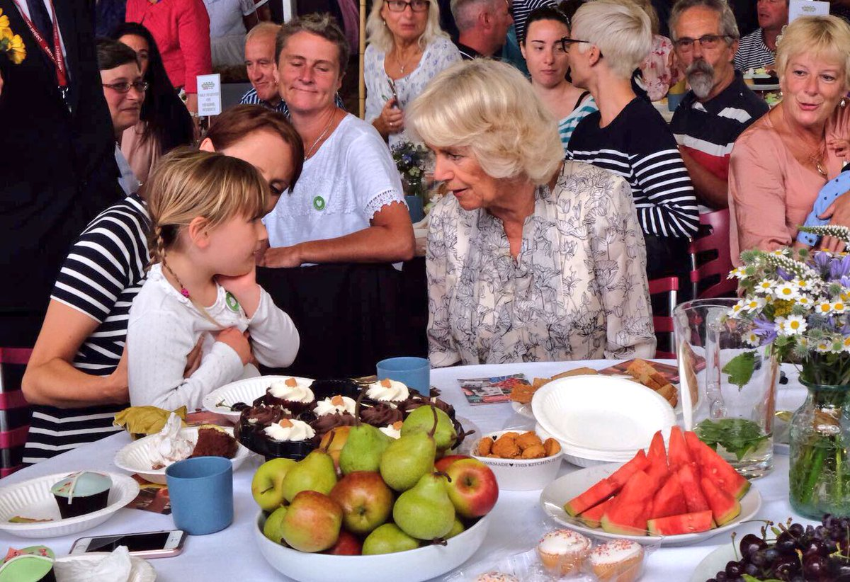 HRH has been Patron of The Big Lunch since 2013. They've organised a special event to help encourage community spirit! #TRHinCornwall