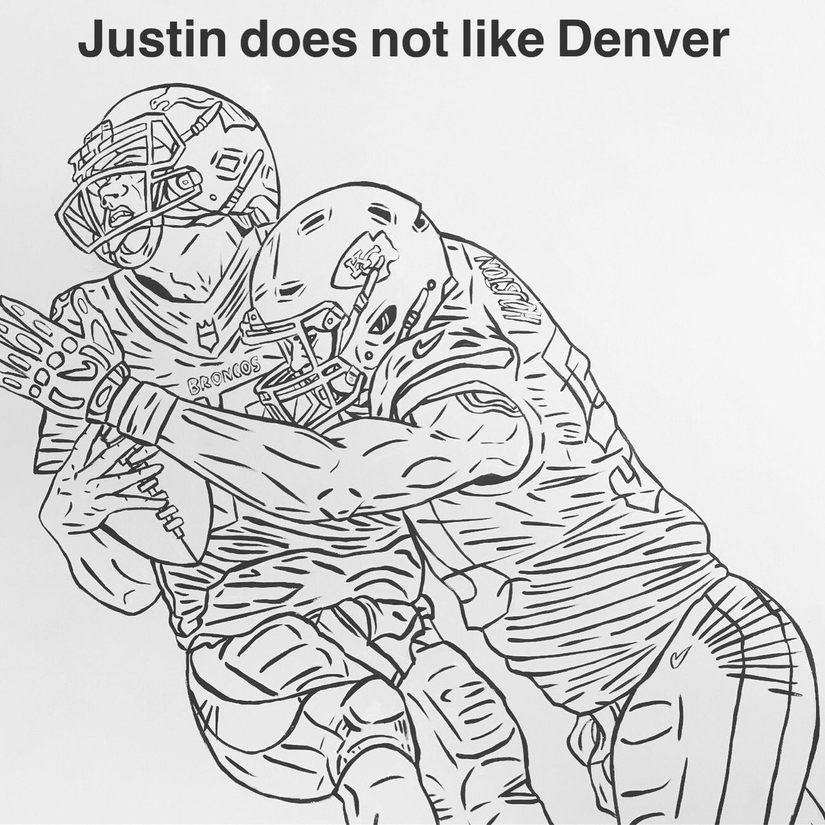We all feel ya on that one Justin!#CoreyJonesArtStudios #TheArtistChief #ChiefsKingdom #Chiefs #NFL #AFC #AFCWest #Sack #Safety<br>http://pic.twitter.com/65HTbSL0OW