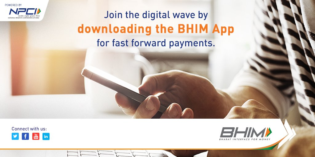 Transactions with BHIM are swift and speedy. Download the BHIM App from Play Store or App Store. #BHIM #DigitalRevolution<br>http://pic.twitter.com/5L7mKixnzZ