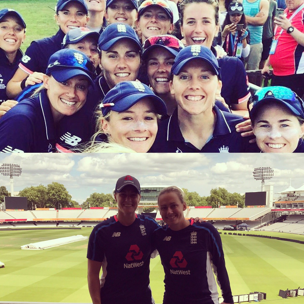 Never in my career did I think we would play at a sold out Lords in a World Cup final! Just amazing! #wwc17 https://t.co/riaIbol9b5